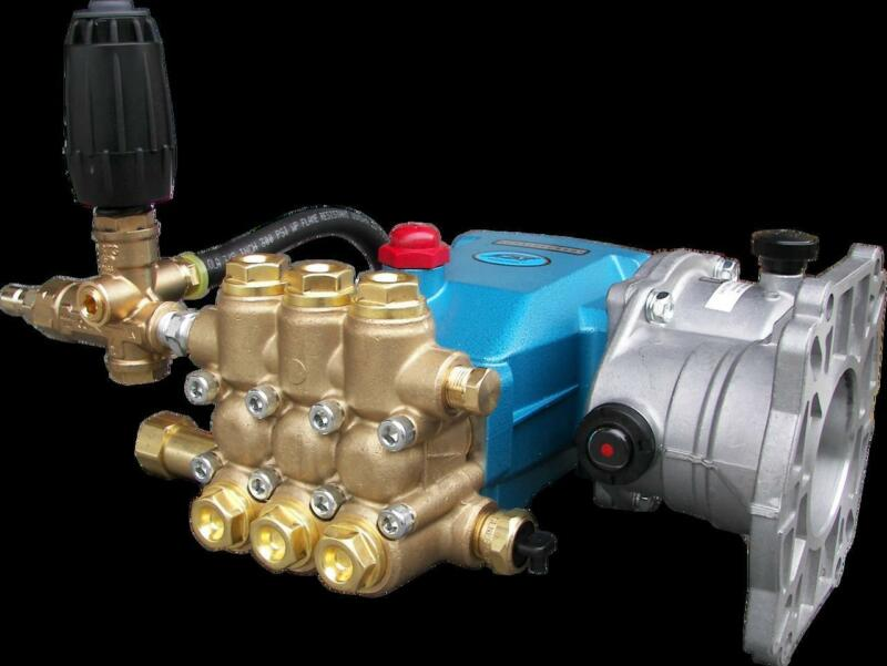 CAT 5CP3120 Plumbed Pump with Gear Reducer 4.5 GPM 3500 PSI