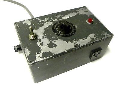 Superior Electric Powerstat Variable Autotransformer 0-140 Vac 3 Amps