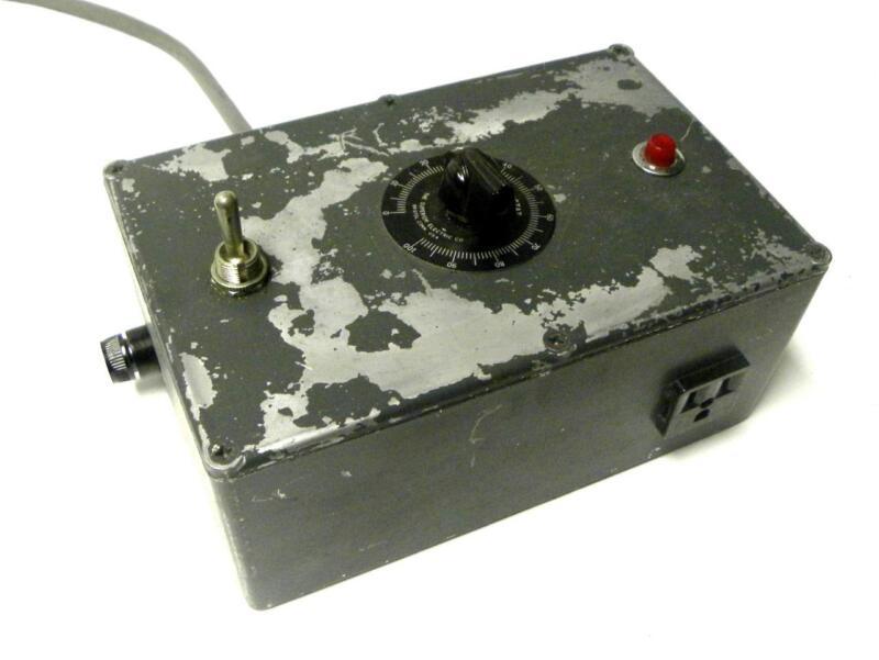 SUPERIOR ELECTRIC POWERSTAT VARIABLE AUTOTRANSFORMER 0-140 VAC @ 3 AMPS