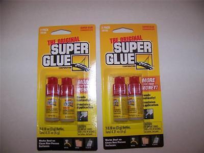 super glue 4 bottles