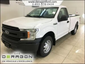 2018 Ford F-150 *RABAIS 8000$-XL CAB SIMPLE 141PO V6 AIR CLIM. X