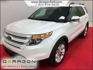 2014 Ford Explorer LIMITED + GPS + TECHNOLOGY PACKAGE + PARK ASS