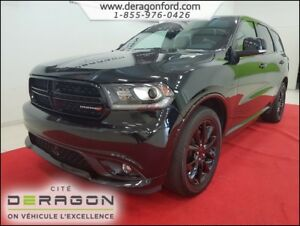 2017 Dodge Durango R/T INT. ROUGE - TECH PACK - TOIT - MAGS 20P