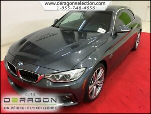 2015 BMW 4 Series 435i xDrive + CONVERTIBLE + M PACK + NAV + CAM