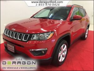 2018 Jeep Compass NORTH 4X4 MAGS CUIR AUTO 9 VITESSES NORTH 4X4