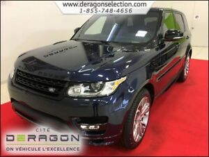 2017 Land Rover Range Rover Sport HSE + DYNAMIC + BREMBO + ROUES