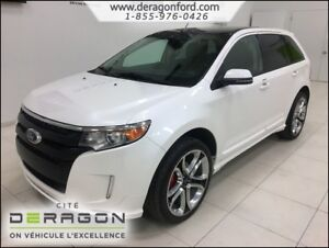 2014 Ford Edge SPORT + TOIT + CUIR + GPS + VISION PACKAGE SPORT