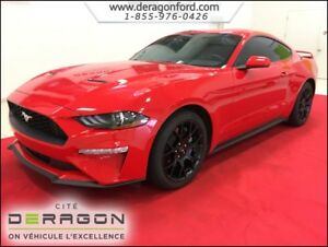 2018 Ford Mustang COUPE ECOBOOST PERFORMANCE PACK MAGS 19P SPORT