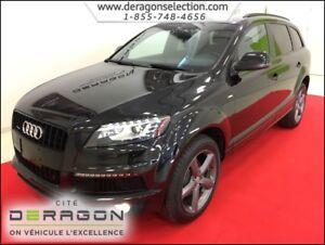 2014 Audi Q7 TDI + PROGRESSIV + S-LINE + NAV + CAM + TOIT PANO