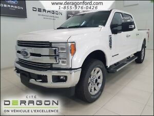 2018 Ford Super Duty F-250 SRW *RABAIS 9000$-LARIAT V8 DIESEL TO