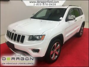 2015 Jeep Grand Cherokee LIMITED-AWD-CUIR-TOIT OUVRANT-MAGS LIMI