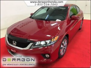 2014 Honda Accord Coupe EX 2.4L MANUELLE + AIR CLIM + BLUETOOTH