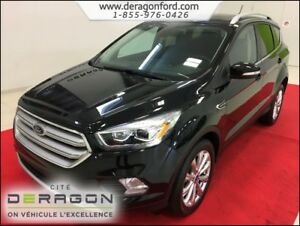 2018 Ford Escape TITANIUM AWD NAVIGATION - CAMERA - TOIT PANORAM