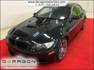 2012 BMW M3 CONVERTIBLE + SMG + NAV + CUIR ROUGE CONVERTIBLE +