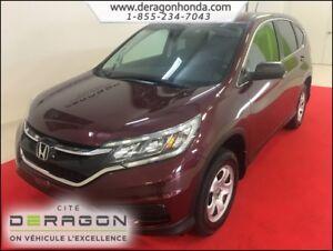 2015 Honda CR-V LX 2.4L 4 ROUES MOTRICES + CAMERA DE RECUL LX 2.