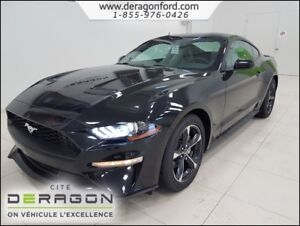 2018 Ford Mustang 4 PNEUS HIVER INC-COUPE ECOBOOST SYNC MAGS 18P