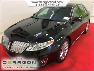 2012 Lincoln MKS ECOBOOST + ULTIMATE PACK + AWD + TOIT + GPS ECO