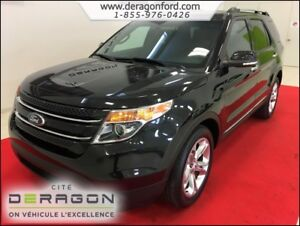 2014 Ford Explorer LIMITED + AWD + CUIR + NAVIGATION LIMITED + A