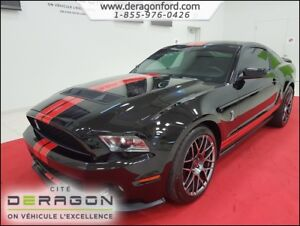 2011 Ford Mustang SHELBY GT500 COUPE V8 5.4L ENSEMBLE SPORT SHEL