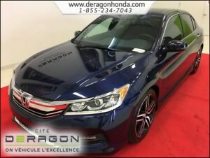 2016 Honda Accord Sedan SPORT 2.4L + BAS KILO + VITRES TEINTEES