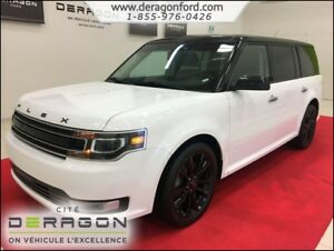 2018 Ford Flex LIMITED AWD TOIT PANO NAVIGATION MAGS 20P SONY LI