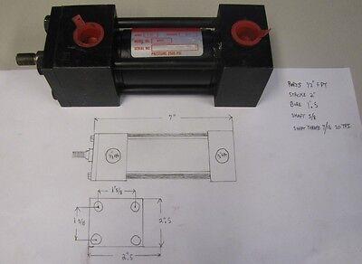 Dayton 4z631 1-12 Bore 2 Stroke 8-12 - 10-12 Hydraulic Cylinder New