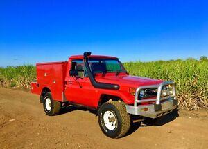 HZJ75 Toyota Landcruiser ute 1HZ diesel Yatala Gold Coast North Preview