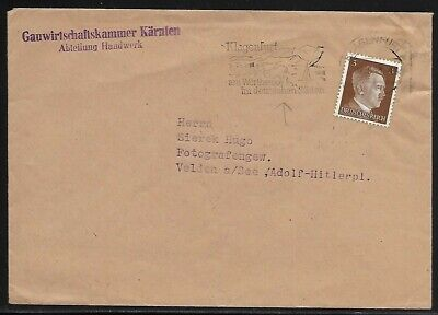 Cover - Postal History - Germany Third Reich - 1941 Cover