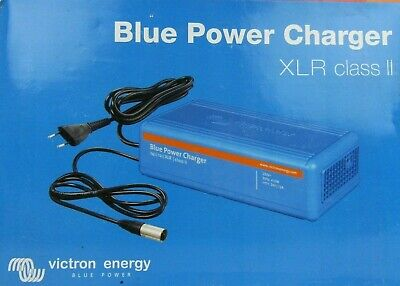 New Victron Energy Blue Power Battery Accu Charger 24V 12A Class-II XLR plug