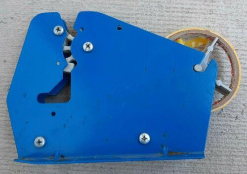 Vintage Blue Factory Mountable Tape Dispenser