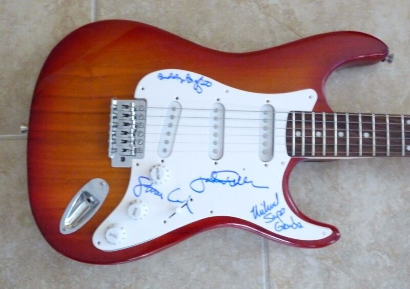 Ozark Mountain Daredevils x4 Signed Autograph Guitar PSA Guaranteed Supe Grande