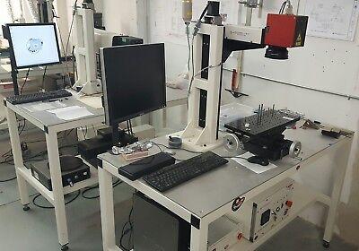 Fiber Laser Engraving System- Ipg Laser-made In Usa