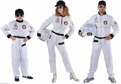 Astronaut Astronautenkostüm Raumanzug Spaceman Kostüm Uniform Weltall Helm - Raumanzug Kostüm