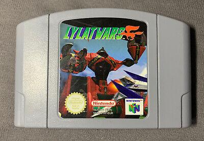 Lylat Wars N64 PAL - Nintendo 64 - Only Cart - Good Condition - Fast Shipping