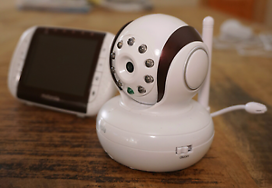 Motorola Remote Wireless Video Baby Monitor (MBP36) Lambton Newcastle Area Preview