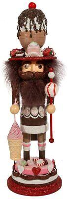 "Kurt S. Adler HA0583 Hollywood Chocolate Sundae Nutcracker, Multi-Colored, 18"""
