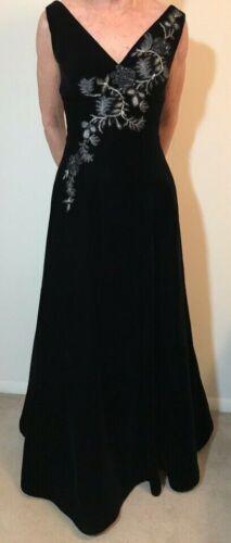 San Carlin V-Neck Evening Gown