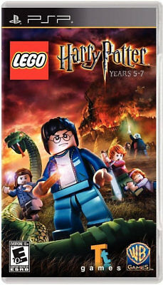 LEGO Harry Potter: Years 5-7 PSP New Sony PSP
