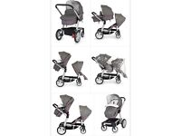 Mothercare Genie Double buggy
