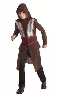 Assassin's Creed Aguilar Costume Teen S M Cosplay Halloween Video Game New NWT](Teenage Halloween Games)