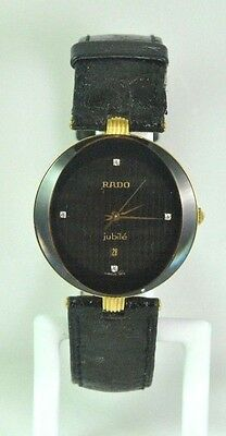 Diamond RADO JUBILE WATCH 152.3694.2 GOLD   Swiss 071 Sapphire Crystal