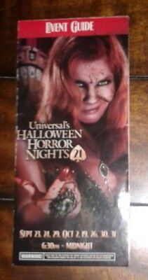 Halloween Horror nights 21 Event guide