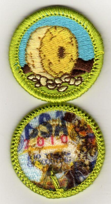 "Inventing Merit Badge, Type K, ""BSA 2010"" Back (2010-12), Mint!"