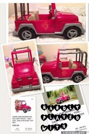 OUR GENERATION DOLLS JEEP