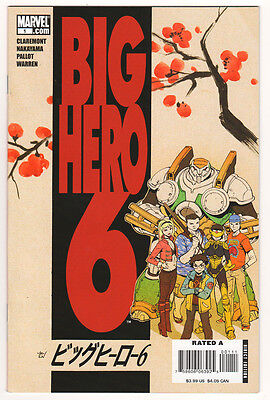 Big Hero 6 #1 (Nov 2008, - Big Hero 6 Marvel