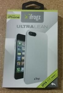 iFrogz Silver Ultra Lean Cover for iPhone 5