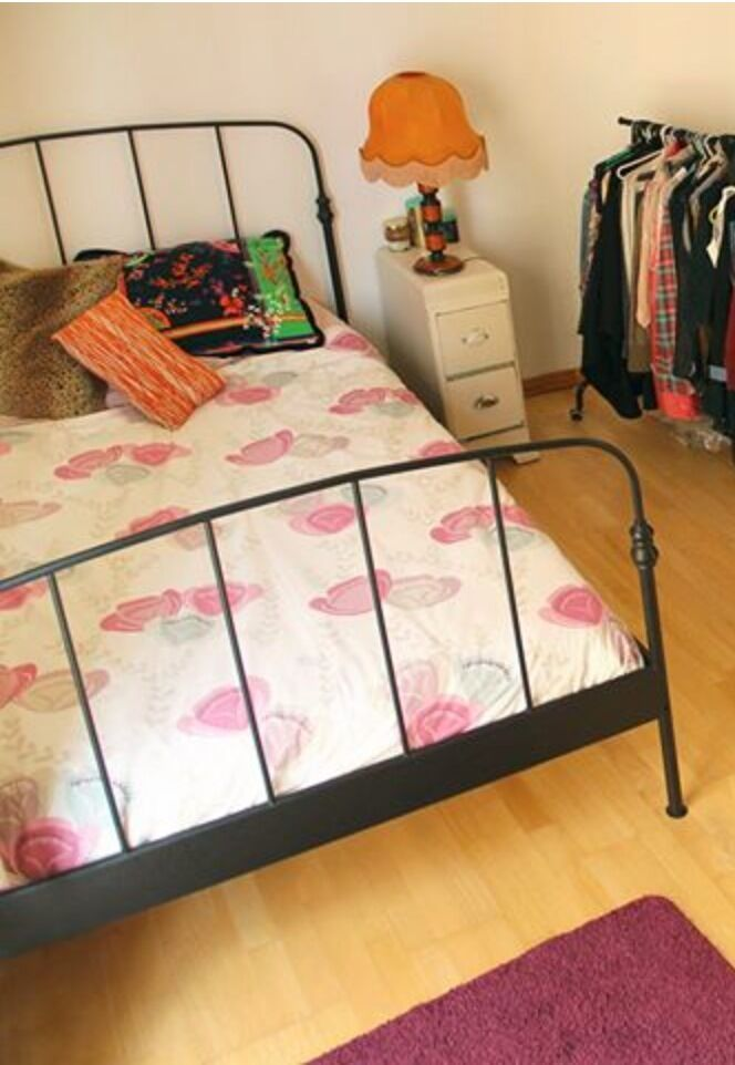 lillesand double bed frame ikea