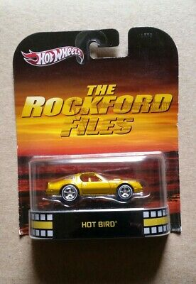 Hot Wheels ~ Retro Entertainment ~ The Rockford Files ~ Gold ~ Hot Bird ~ Fire