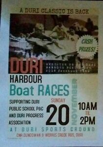 Duri harbour boat races family fun day Tamworth Tamworth City Preview
