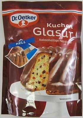 Milk Chocolate Glaze - Dr.Oetker MILK CHOCOLATE Glaze -Ready to serve -1 pack -FREE SHIPPING
